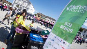"""RACCOLTA DIFFERENZIATA AL GIRO D'ITALIA n°100 """"Ride Green"""" prevede la gestione ecosostenibile dei rifiuti in tutte le 21 tappe della Corsa Rosa 2017"""