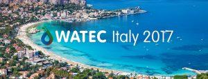 ECODEP tra gli espositori al Watecitaly 2017 svoltosi a Palermo.