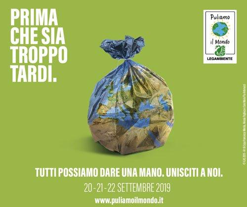 Puliamo il Mondo - edizione italiana di Clean up the World. dal 20 al 22 settembre il fine settimana ambientalista sulla corretta gestione dei rifiuti