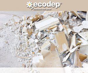 Smaltimento Cartongesso e Gesso. Ecodep, azienda certificata, smaltimento dei rifiuti speciali da lavorazioni edilizie quali CARTONGESSO E GESSO.